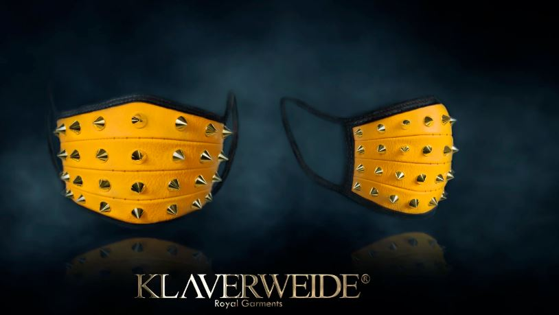 Luxury face masks by Klaverweide (2)