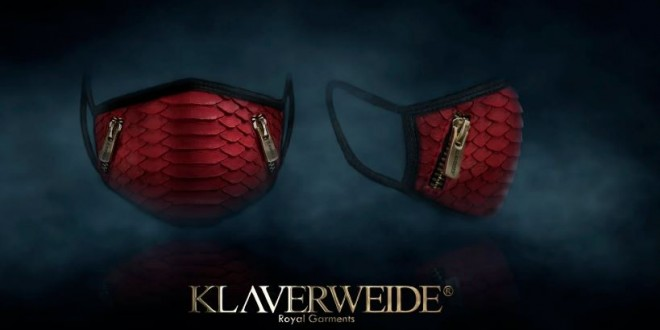 Luxury face masks by Klaverweide (3)